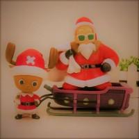 ドラゴンボールマスター老師アクションフィギュアワンピーストニー-·-チョッパー図サンタクロース版。亀仙人-PVC-フィギュア玩具-Brinquedos-XMPG03595-eqg0 (4)